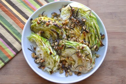 Roasted-Cabbage-with-Warm-Walnut-Dressing--600x402