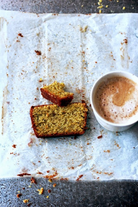 Lime and Pistachio Cake - Gluten Free 9b